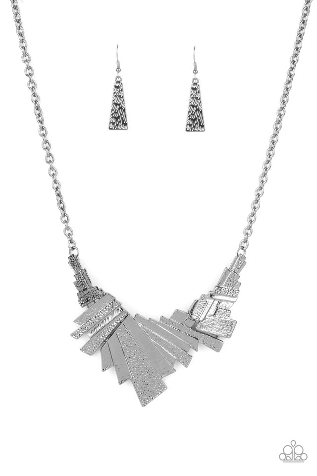 Happily Ever AFTERSHOCK - Black - Paparazzi Necklace Image