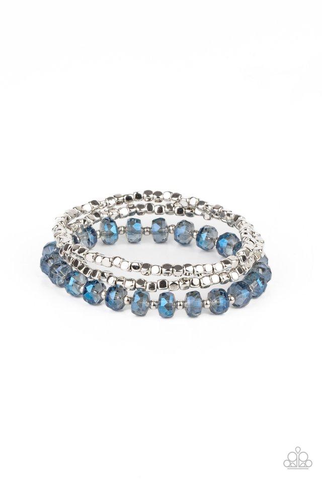 Celestial Circus - Blue - Paparazzi Bracelet Image