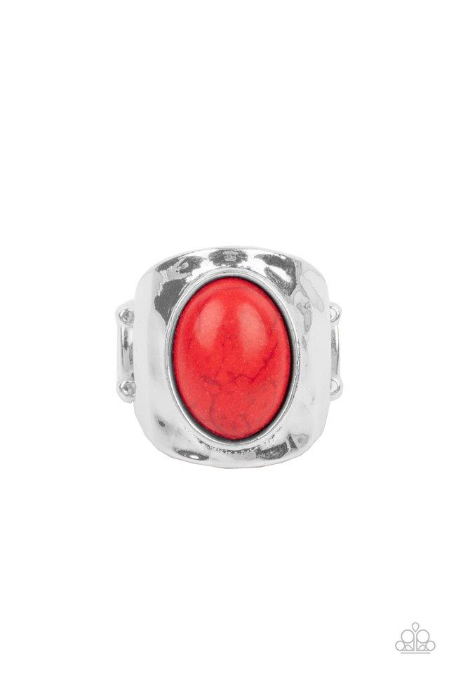 Elemental Essence - Red - Paparazzi Ring Image