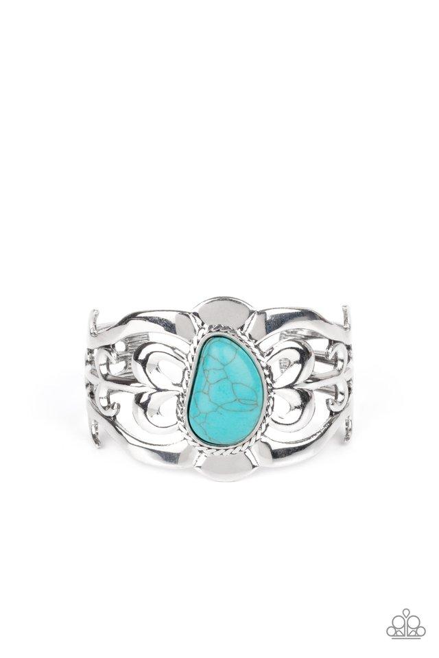 The MESAS are Calling - Blue - Paparazzi Bracelet Image