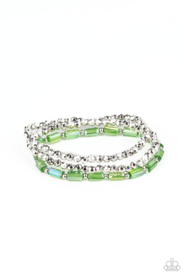 Elegant Essence - Green - Paparazzi Bracelet Image