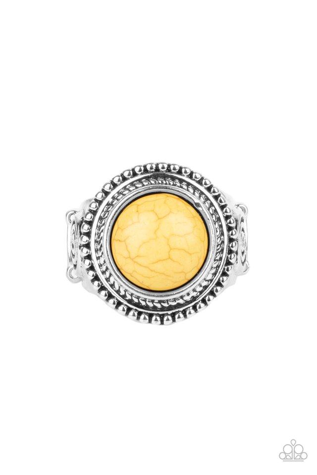 Evolutionary Essence - Yellow - Paparazzi Ring Image