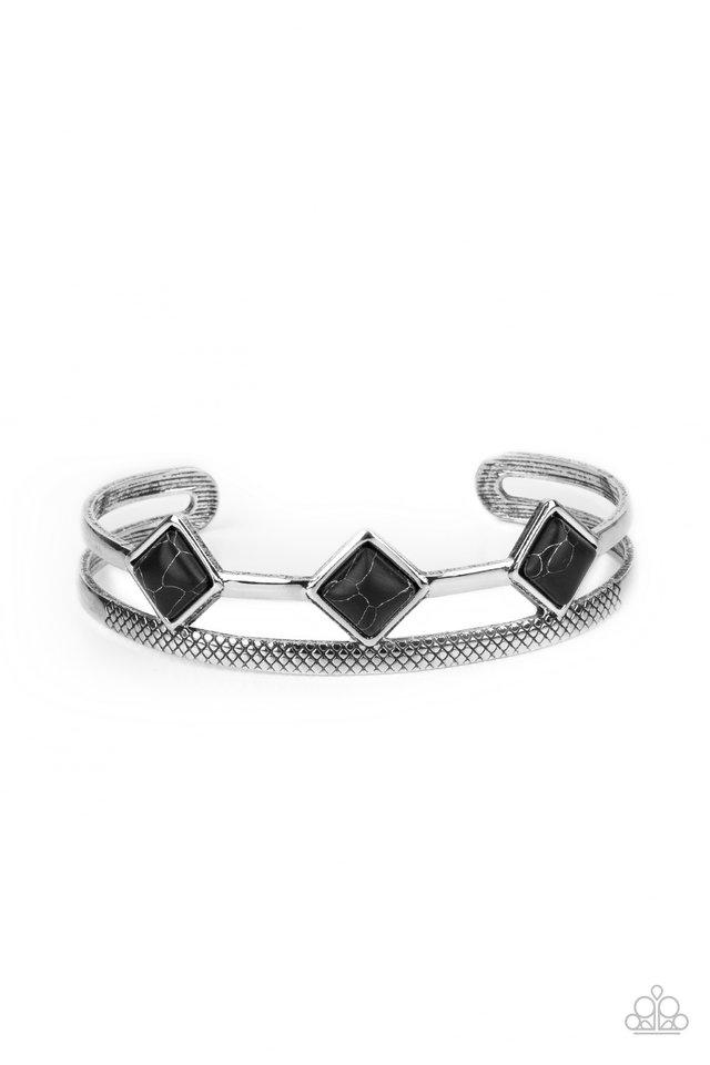 Adobe Ascension - Black - Paparazzi Bracelet Image