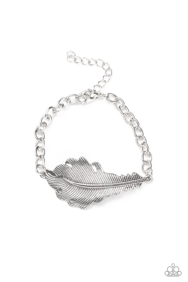 Rustic Roost - Silver - Paparazzi Bracelet Image