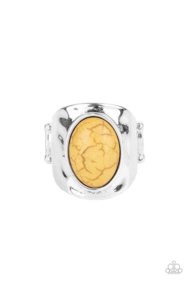 Elemental Essence - Yellow - Paparazzi Ring Image