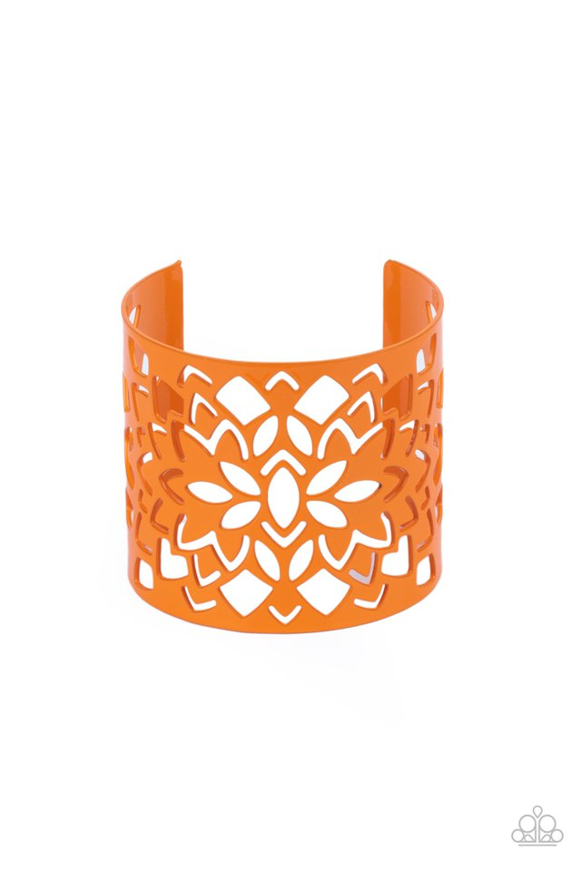 Hacienda Hotspot - Orange - Paparazzi Bracelet Image