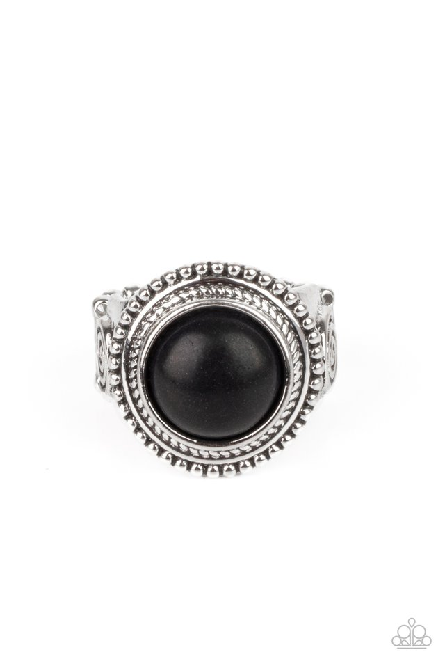 Evolutionary Essence - Black - Paparazzi Ring Image