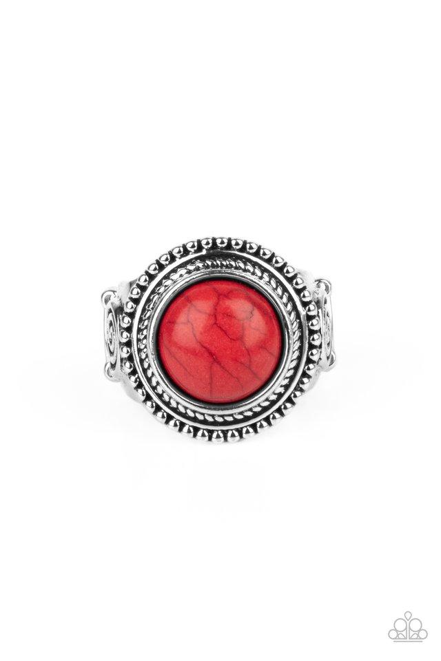 Evolutionary Essence - Red - Paparazzi Ring Image