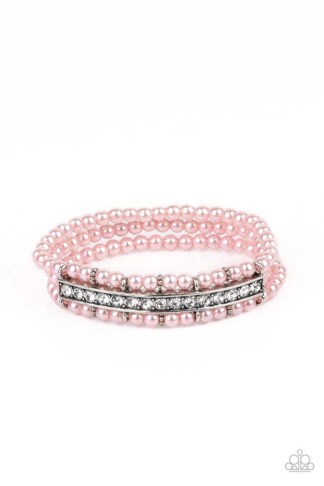 Vintage Beam - Pink - Paparazzi Bracelet Image
