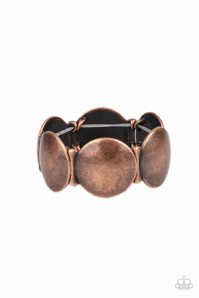 Going, Going, GONG! - Copper - Paparazzi Bracelet Image