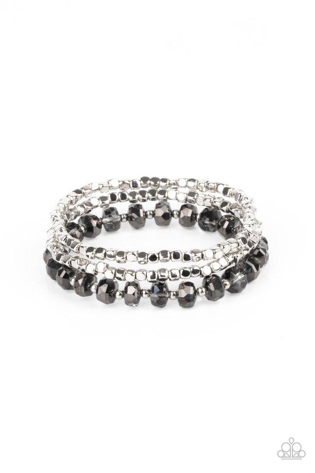 Celestial Circus - Silver - Paparazzi Bracelet Image