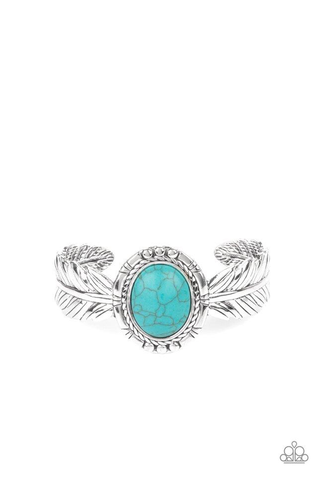 Western Wings - Blue - Paparazzi Bracelet Image