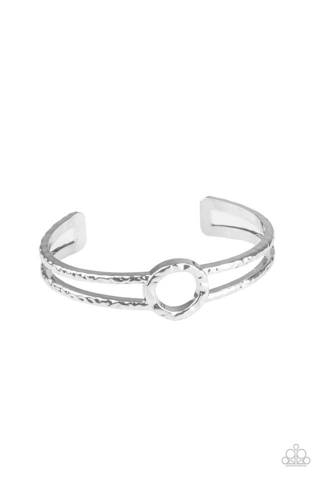 Historical Heirloom - Silver - Paparazzi Bracelet Image
