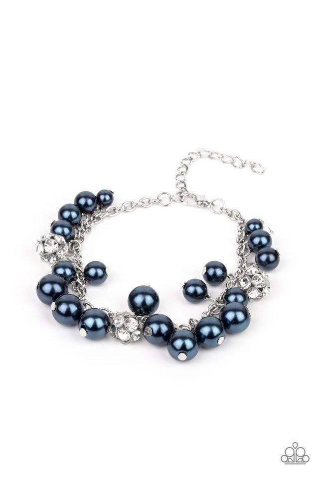 The GRANDEUR Tour - Blue - Paparazzi Bracelet Image