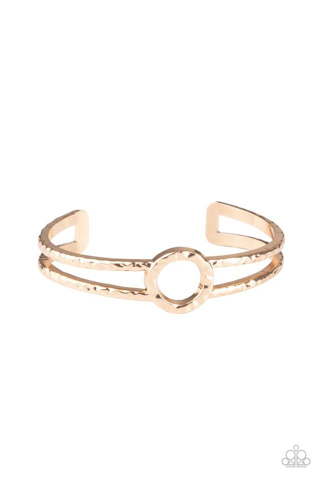 Historical Heirloom - Gold - Paparazzi Bracelet Image
