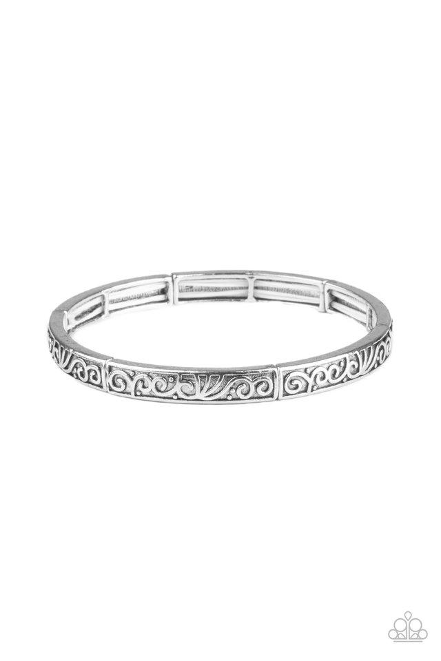 Precisely Petite - Silver - Paparazzi Bracelet Image