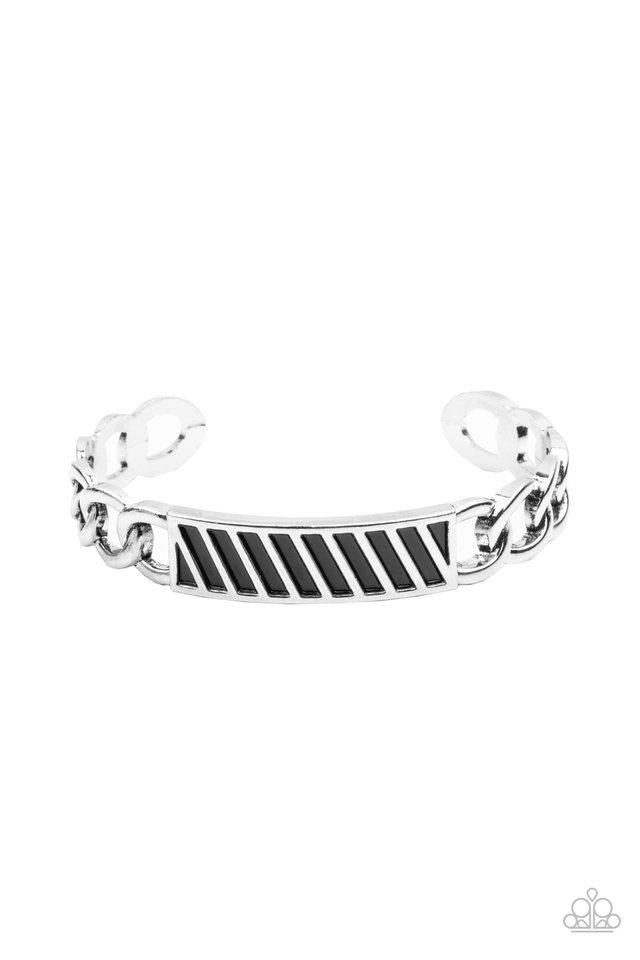 Keep Your Guard Up - Silver - Paparazzi Bracelet Image