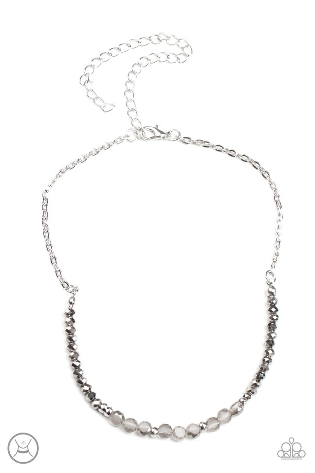 Space Odyssey - Silver - Paparazzi Necklace Image