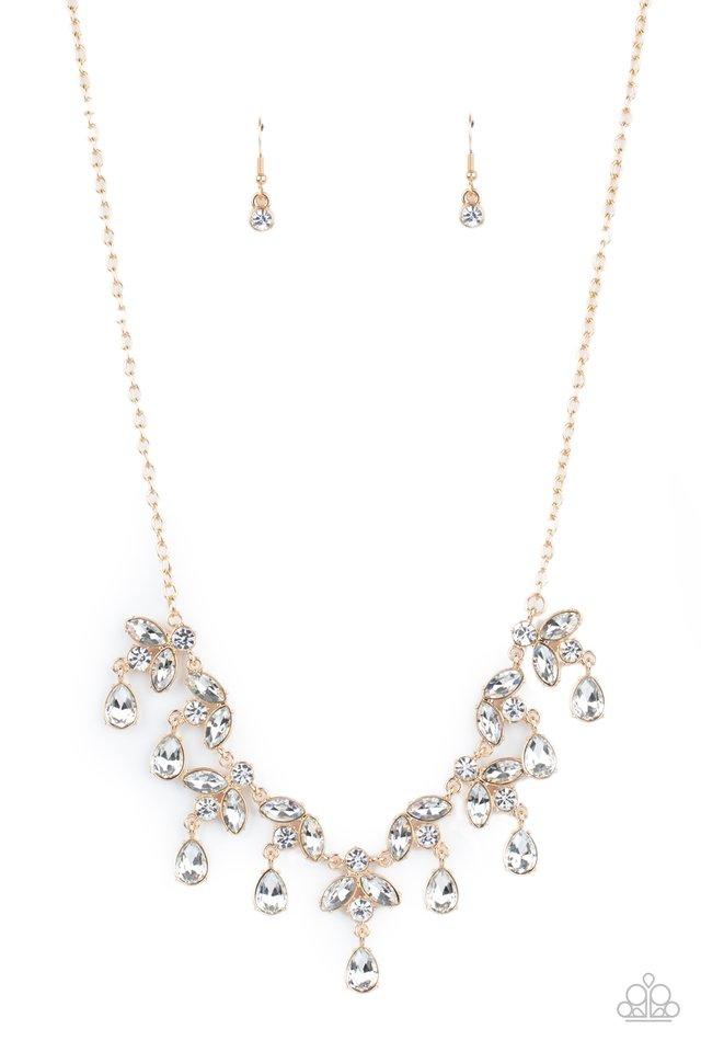 Vintage Royale - Gold - Paparazzi Necklace Image