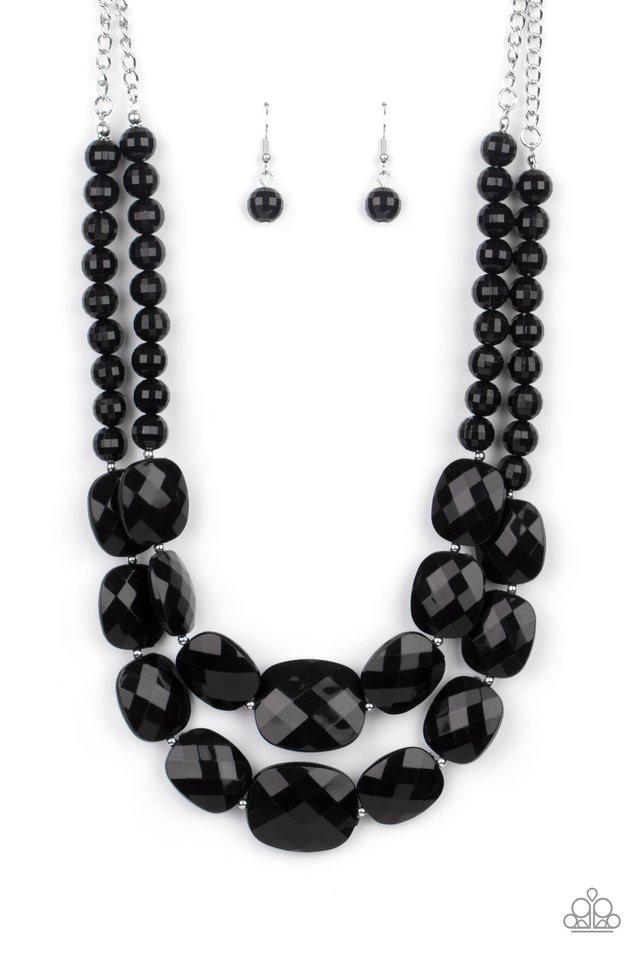 Resort Ready - Black - Paparazzi Necklace Image