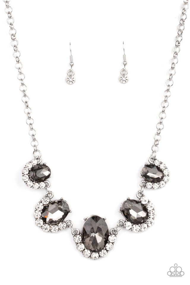 The Queen Demands It - Silver - Paparazzi Necklace Image
