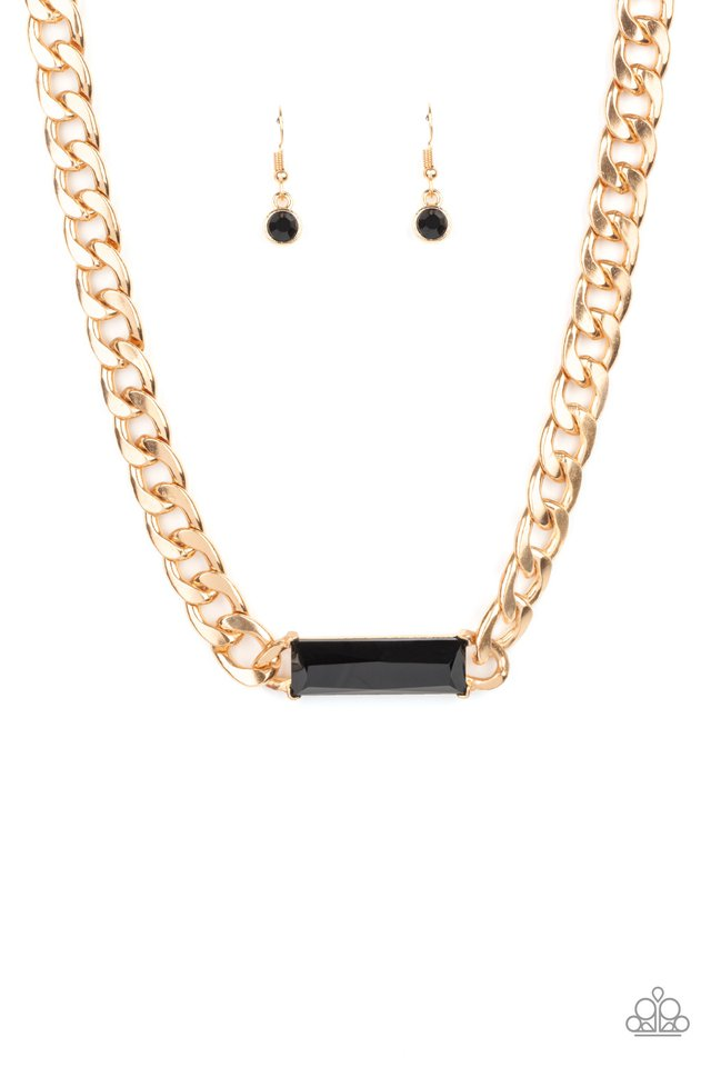 Urban Royalty - Gold - Paparazzi Necklace Image