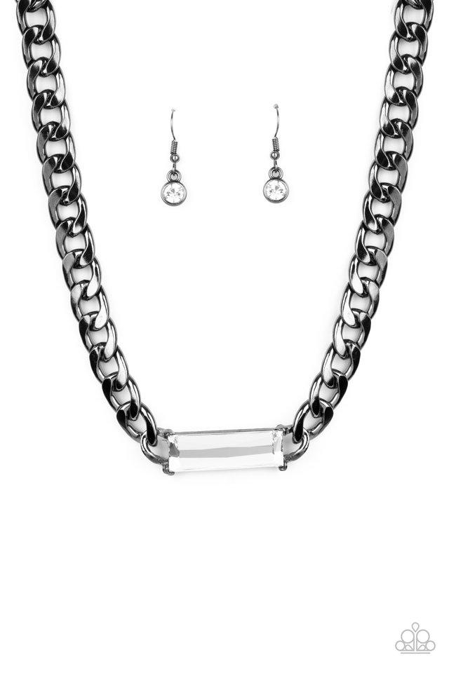Urban Royalty - Black - Paparazzi Necklace Image