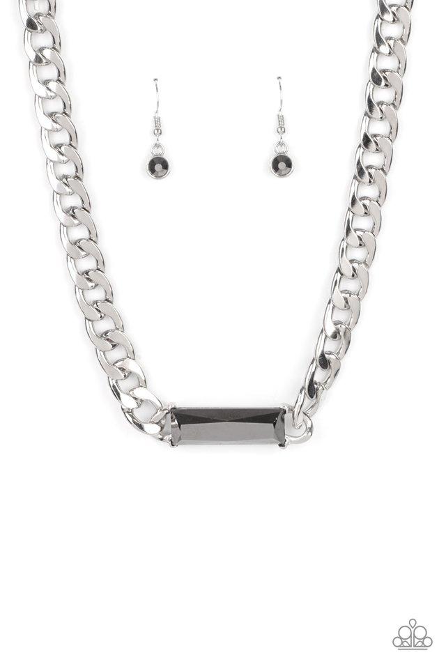 Urban Royalty - Silver - Paparazzi Necklace Image