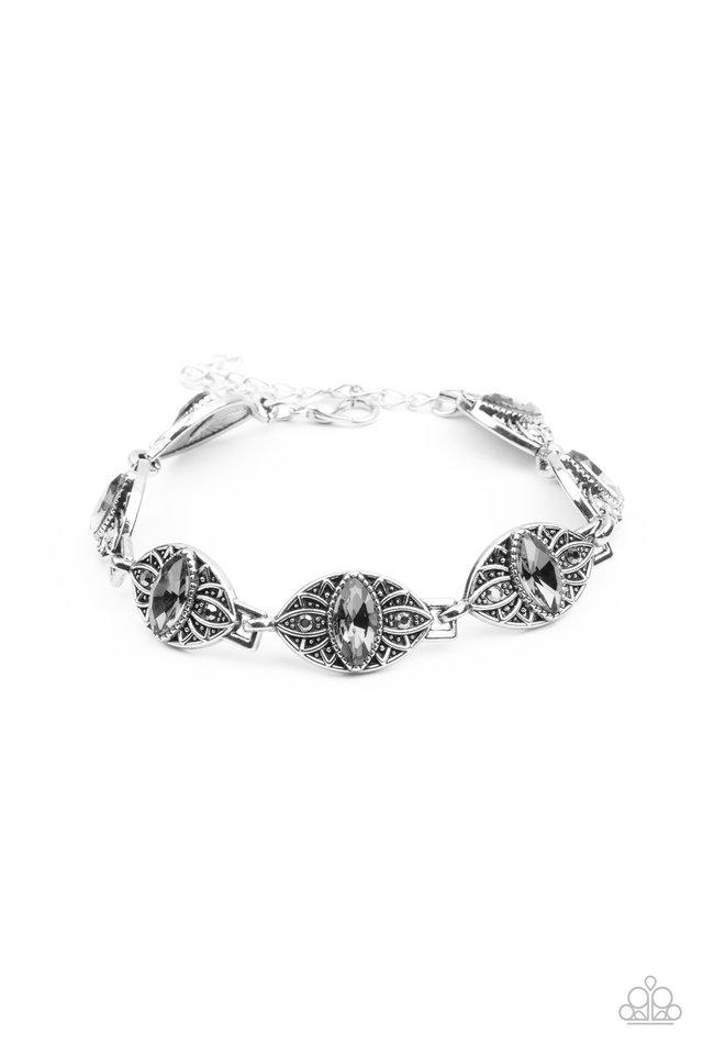 Crown Privilege - Silver - Paparazzi Bracelet Image
