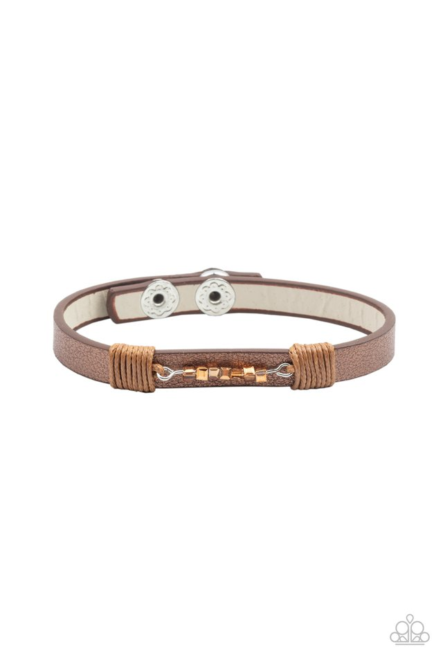 Worth The Hype - Copper - Paparazzi Bracelet Image