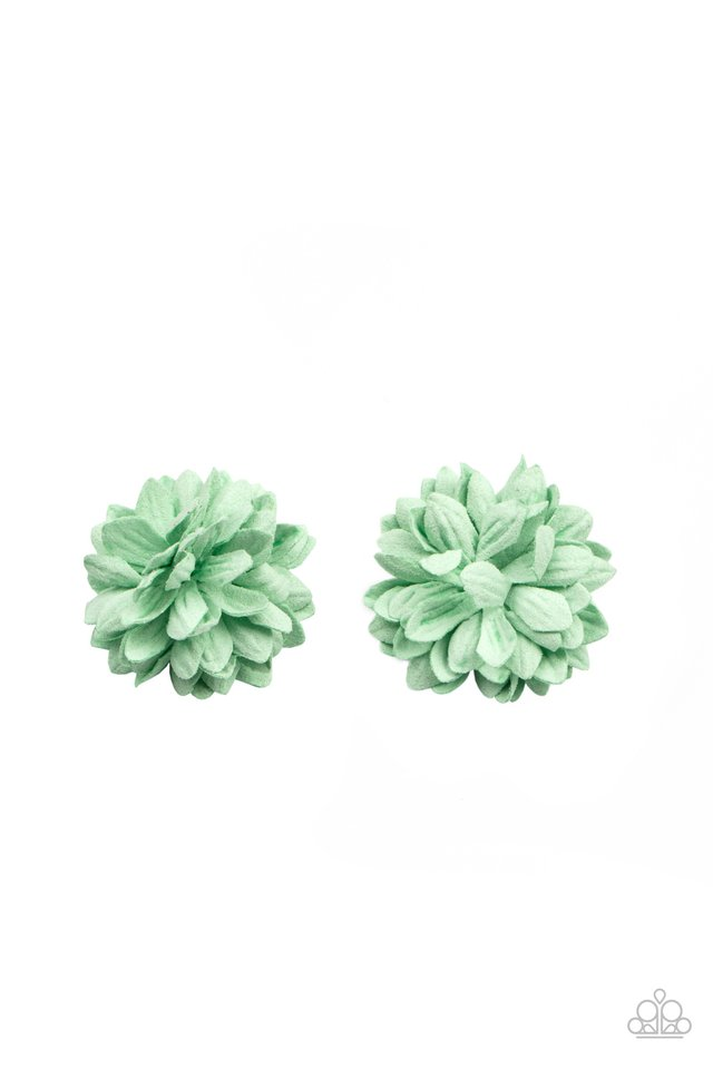 Paper Paradise - Green - Paparazzi Hair Accessories Image