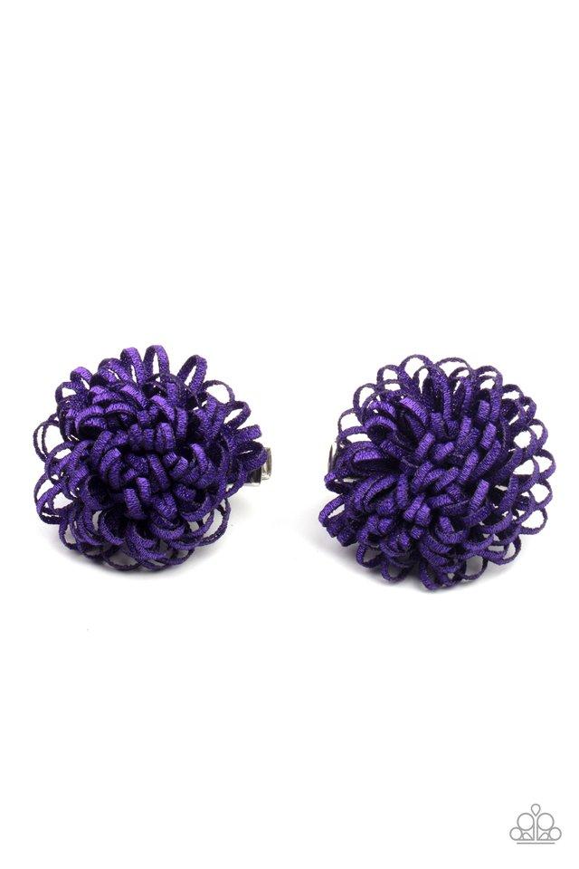 Pretty in Posy - Purple - Paparazzi Hair Accessories Image