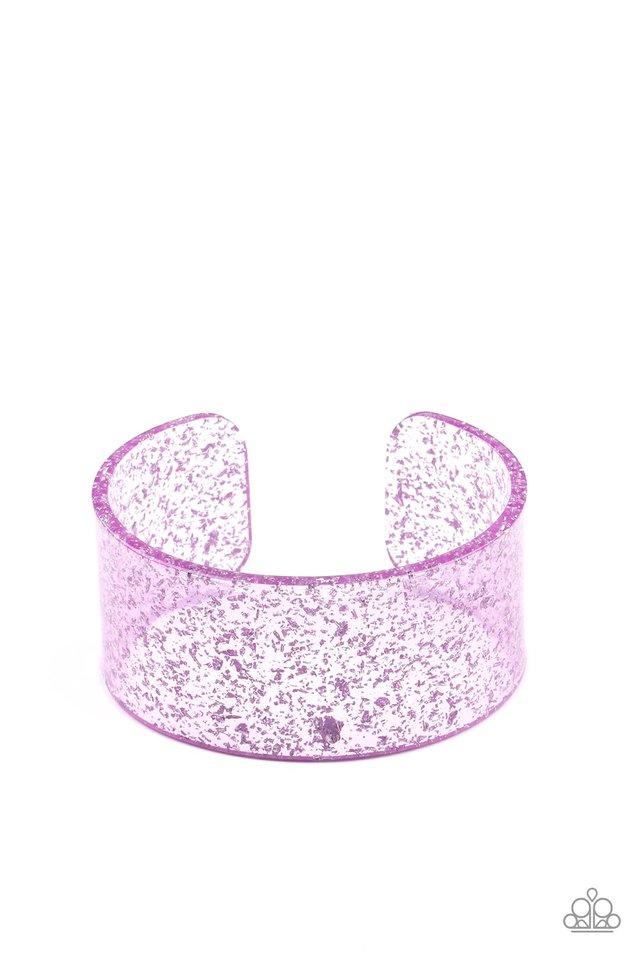 Snap, Crackle, Pop! - Purple - Paparazzi Bracelet Image