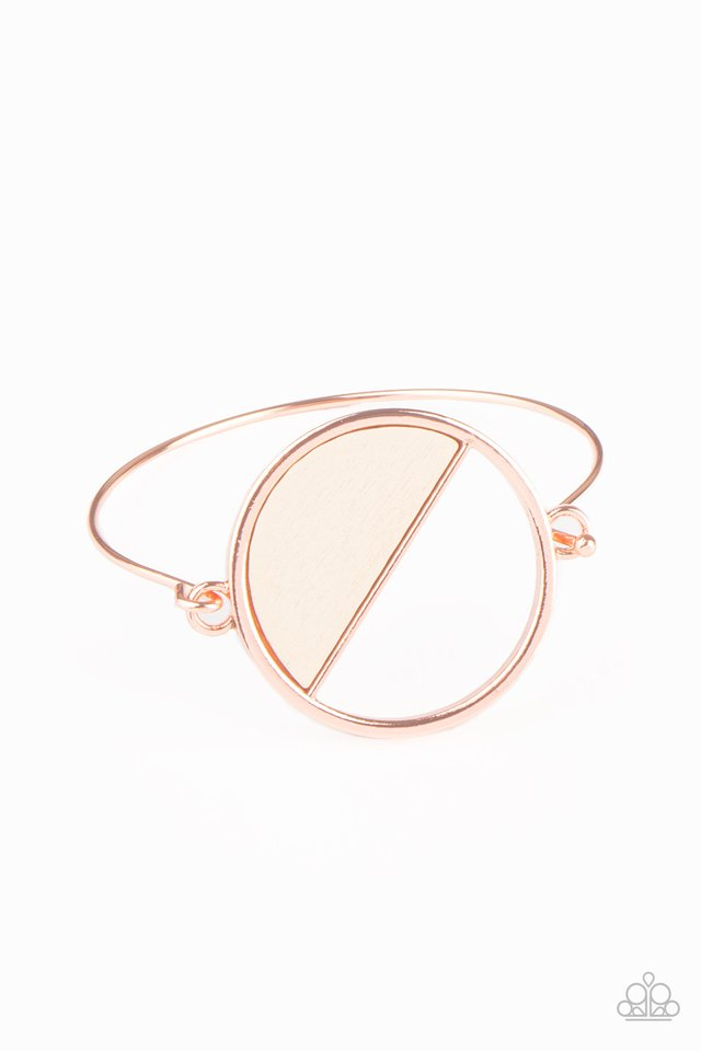 Timber Trade - Copper - Paparazzi Bracelet Image