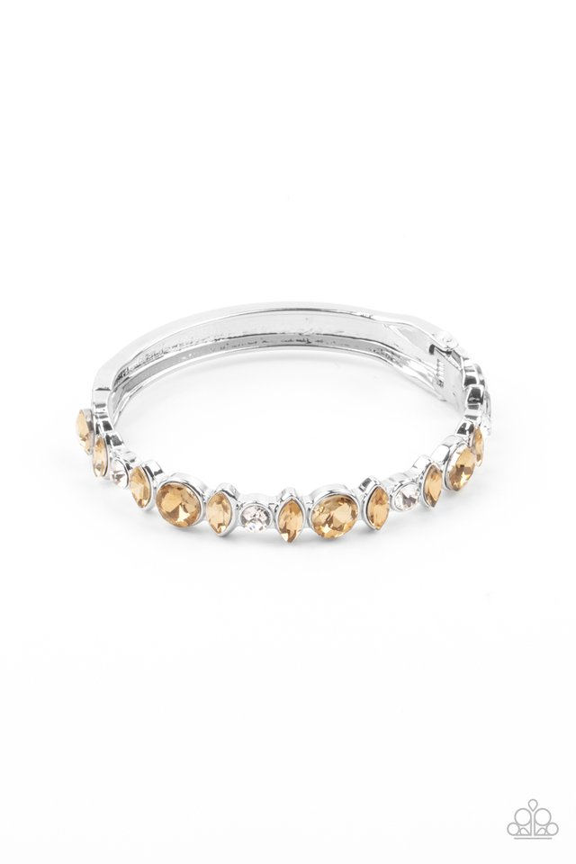 BLING Them To Their Knees - Brown - Paparazzi Bracelet Image