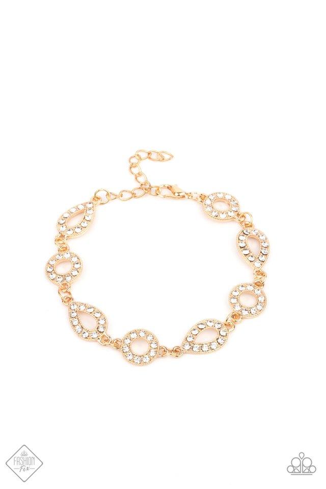 Royally Refined - Gold - Paparazzi Bracelet Image