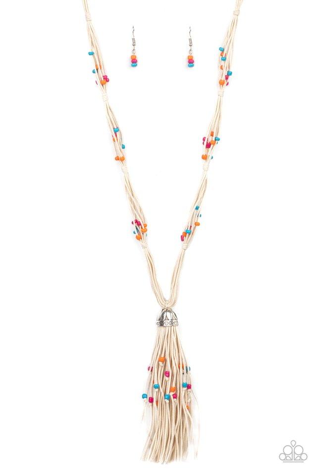 Summery Sensations - Multi - Paparazzi Necklace Image