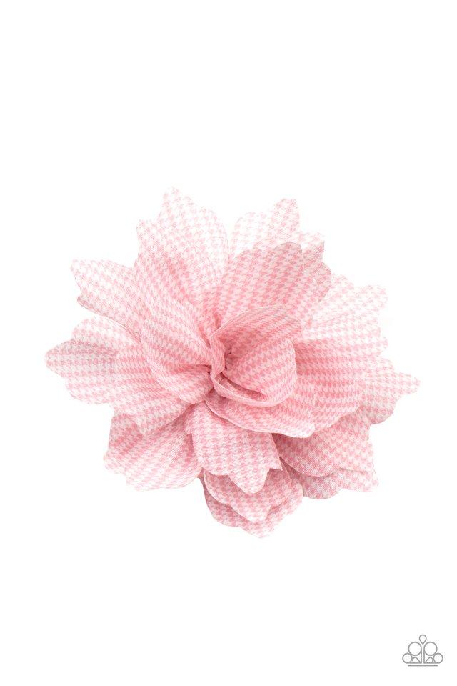 Plaid Prairies - Pink - Paparazzi Hair Accessories Image