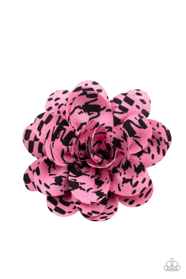 Patterned Paradise - Pink - Paparazzi Hair Accessories Image