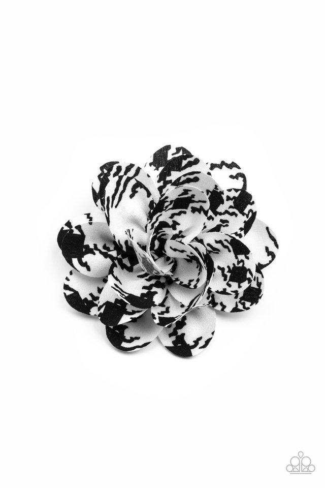 Patterned Paradise - White - Paparazzi Hair Accessories Image