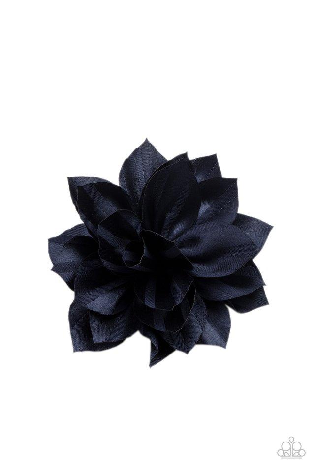 Gala Garden - Blue - Paparazzi Hair Accessories Image