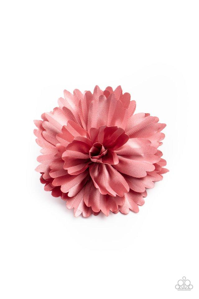 Picnic Posh - Pink - Paparazzi Hair Accessories Image