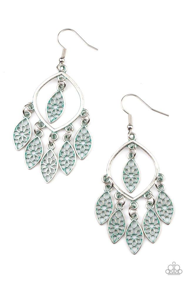 Artisan Garden - Silver - Paparazzi Earring Image
