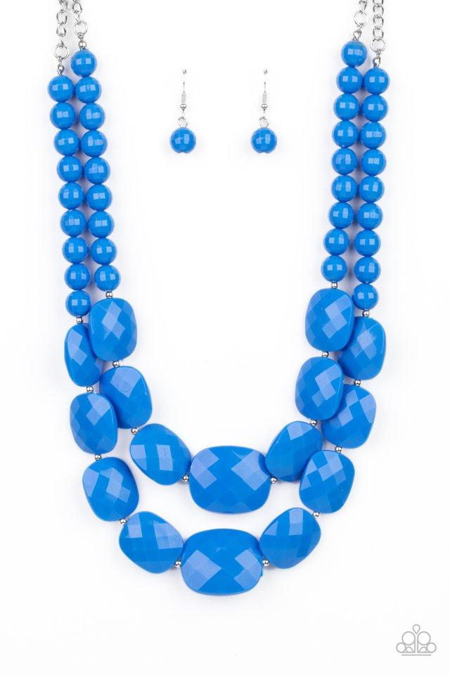 Resort Ready - Blue - Paparazzi Necklace Image