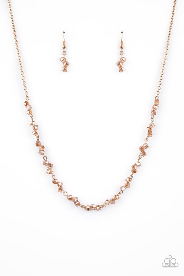 Incredibly Iridescent - Brown - Paparazzi Necklace Image