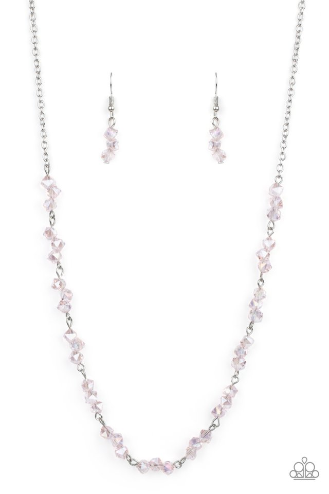 ​Incredibly Iridescent - Pink - Paparazzi Necklace Image