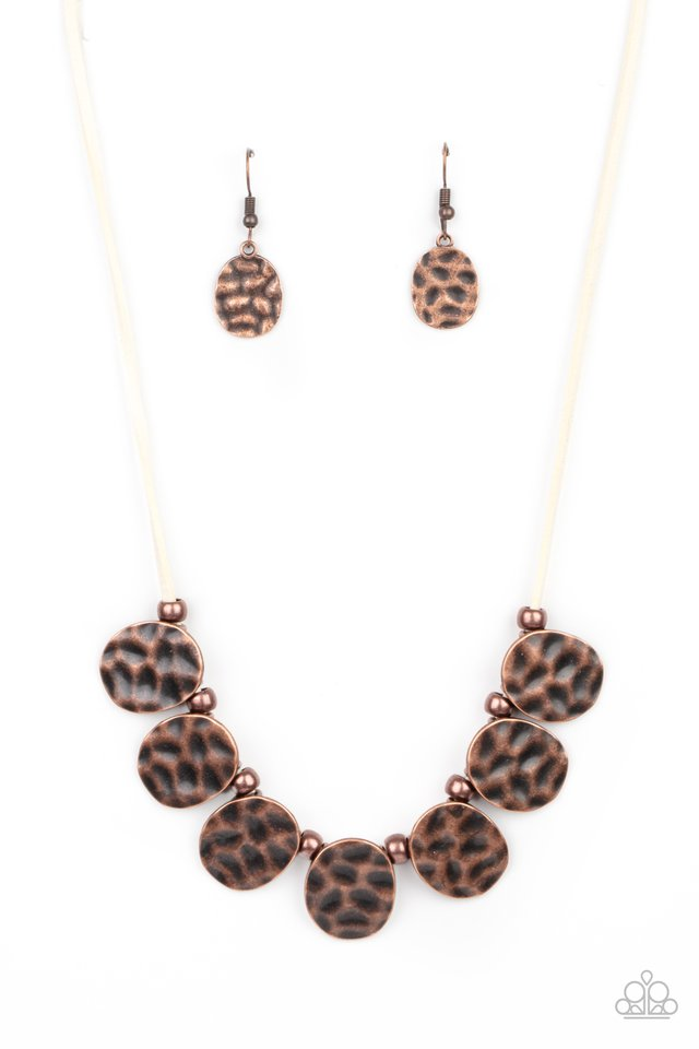 Turn Me Loose - Copper - Paparazzi Necklace Image