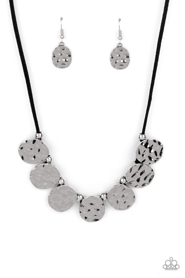 Turn Me Loose - Black - Paparazzi Necklace Image