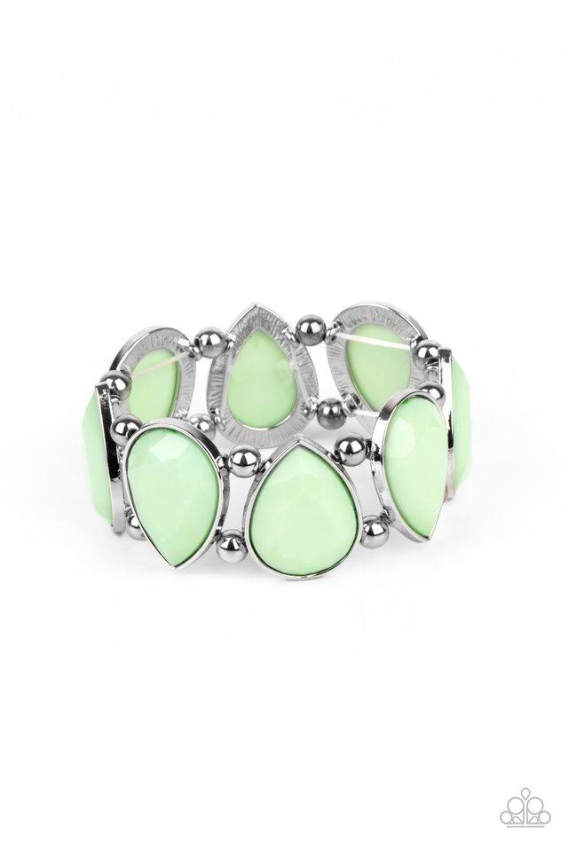 Flamboyant Tease - Green - Paparazzi Bracelet Image