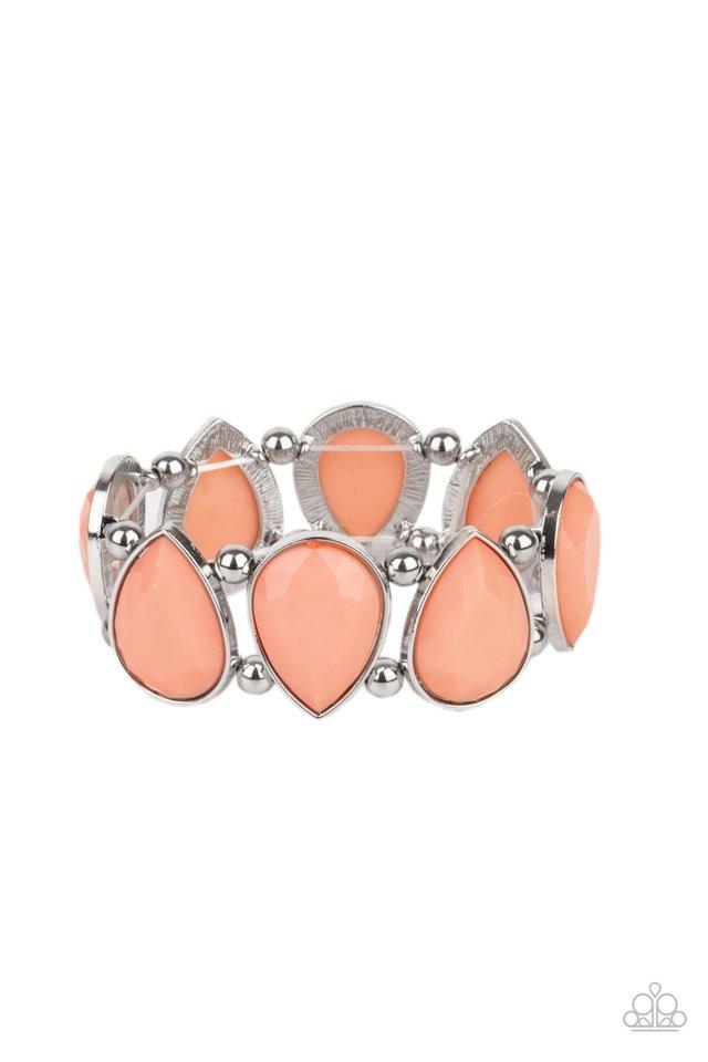 Flamboyant Tease - Orange - Paparazzi Bracelet Image